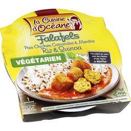 La Cuisine d'Océane Falafels riz & quinoa la barquette de 300 g