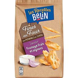 Belin Belin Pétales Les Frenchips goût fromage frais et oignon le sachet de 100 g