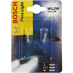 Bosch Bosch Lampes Pure Light W1 2W les 2 lampes