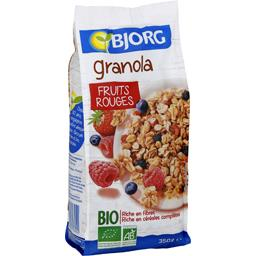 Granola fruits rouges BIO