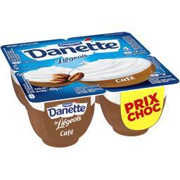 Danone Danone Danette - Dessert Le Liégeois café