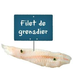 Filet de GRENADIER
