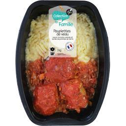Paupiettes de veau sauce tomate