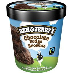 Ben & Jerry's Ben & Jerry's Crème glacée Chocolate Fudge Brownie le pot de 415 g