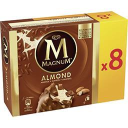 Magnum Magnum Glaces amande la boite de 8 - 656 g