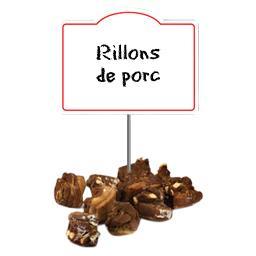Rillons issus de PORC de Touraine