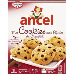 Mes cookies aux pépites de chocolat