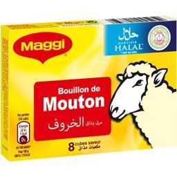 Bouillon de mouton halal
