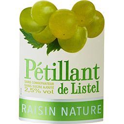Vin pétillant de Listel raisin nature