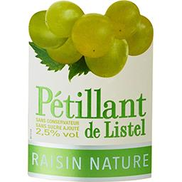 Pétillant de Listel raisin nature