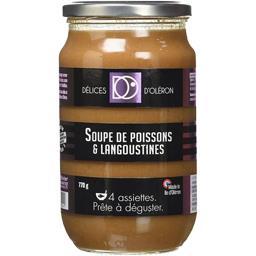 Délice d'Oléron Soupe de Langoustines 770 g -