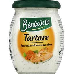 Bénédicta Bénédicta Tartare sauce aux cornichons et aux câpres le pot de 260 g
