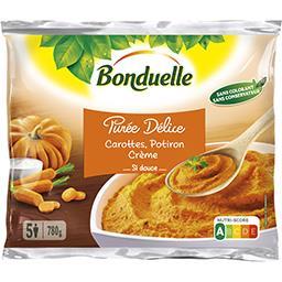 Bonduelle Bonduelle Purée Délice carottes potiron crème le sachet de 780 g