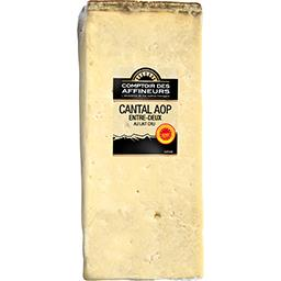Cantal entre deux aop au lait pasteurise