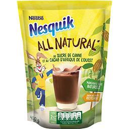 Nesquik NESQUIK Nesquik - Chocolat en poudre cacao au sucre de canne la boite de 400g