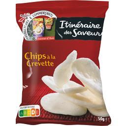 Chips à la crevettes