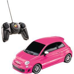 Voiture radio commandée Fiat Abarth 500 rose