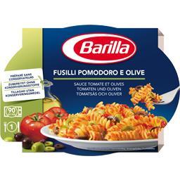 Fusilli sauce tomate et olives