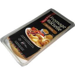 Fromage à raclette avec des graines de moutarde
