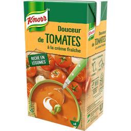Knorr Knorr Soupe douceur de tomates à la crème fraîche la brique de 1 l