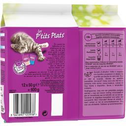 Les P'tits Plats - Aliment pour chat aux poissons