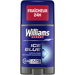 Williams Expert - Déodorant Ice Blue 24 h anti traces blanche...