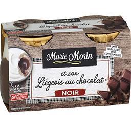 Liégeois au chocolat noir