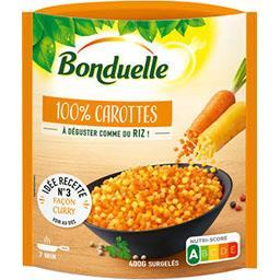 Bonduelle Bonduelle 100% carottes le sachet de 400 g