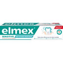 Elmex Dentifrice Sensitive Nettoyage Fraîcheur le tube de 75 ml