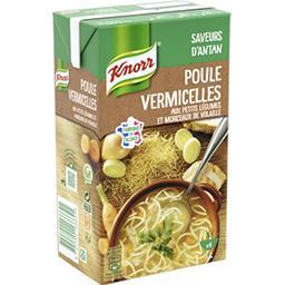 Knorr Knorr Secrets de Grand-Mère - Soupe poule vermicelles la brique de 1 l