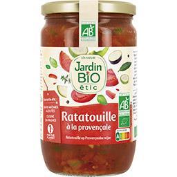 Jardin Bio Jardin bio Ratatouille à la provençale BIO le bocal de 650 g
