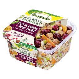 Duo de quinoa pois doux Cranberry et noisettes