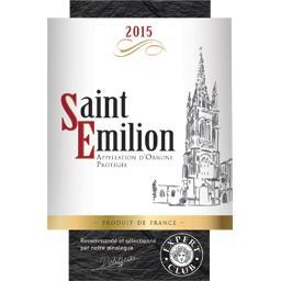 Saint-Emilion vin rouge