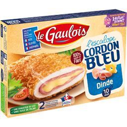 L'Escalope Cordon Bleu dinde