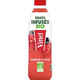 Vittel Vittel Fruits Infusés BIO - Boisson framboise & cassis BIO la bouteille de 75 cl