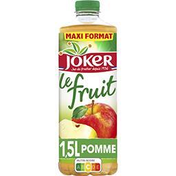 Joker Joker Le Fruit - Jus de pomme la bouteille de 1,5 l