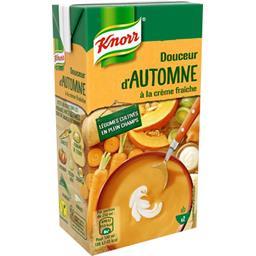 Knorr Knorr Douceur d'automne à la crème fraîche la brique de 500 ml
