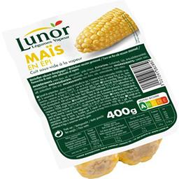 Lunor Lunor Maïs en épi le paquet de deux  400 gr environ
