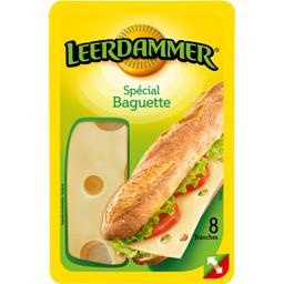 Leerdammer Leerdammer Fromage spécial baguette la barquette de 8 tranches - 160 g