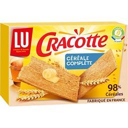 Cracotte - Tartines céréales complètes