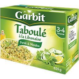 Taboulé à la Libanaise persil & menthe