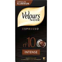 Café Espresso Intense n°10 en capsules