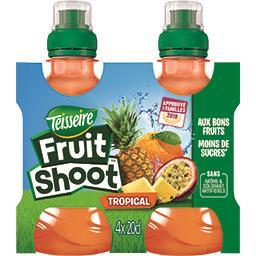 Teisseire Teisseire Fruit Shoot - Boisson tropical les 4 bouteilles de 20 cl