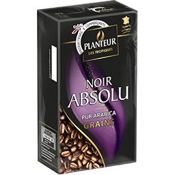 Café en grains Noir Absolu pur arabica