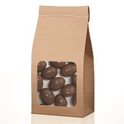Bouchées de chocolat au lait aux amandes en VRAC