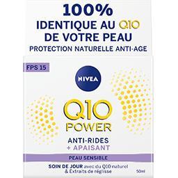 Nivea Nivea Q10 Power - Soin de jour anti-rides + peaux sensibles le pot de 50 ml