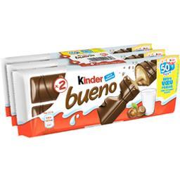 Bueno - Barres chocolatées lait et noisettes
