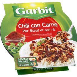 Chili con Carne pur bœuf et son riz