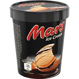 Mars Mars Crème glacée caramel chocolat le pot de 280 g