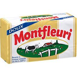 Beurre à teneur réduite en MG 60%, doux